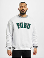 Fubu College Ssl Sweatshirt White/Green/Black image number 2