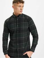 Jack & Jones jjeClassic Check Shirt Olive Night/Slim Fit