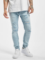 Jack & Jones jjiLiam Jjoriginal Skinny Jeans Blue Denim image number 0