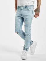 Jack & Jones jjiLiam Jjoriginal Skinny Jeans Blue Denim image number 2