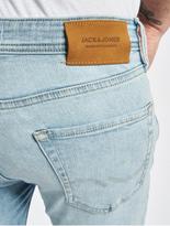 Jack & Jones jjiLiam Jjoriginal Skinny Jeans Blue Denim image number 5