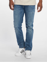 Jack & Jones jjiTim jjOriginal Slim Fit Jeans Blue Denim image number 2