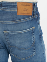 Jack & Jones jjiTim jjOriginal Slim Fit Jeans Blue Denim image number 4