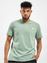 Nike Club T-Shirt Dk Grey Heather/Black