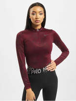 Nike LS Pythn Bodysuit Team Red/Black image number 2