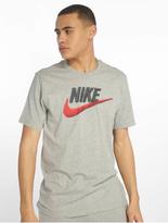 Nike Brand Mark T-Shirt Black/Obsidian Mist image number 2