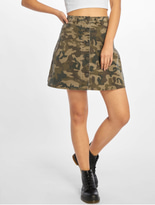 Noisy May nmSunny Camo Skirt Kalamata/Camo image number 0