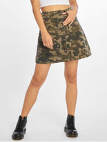 Noisy May nmSunny Camo Skirt Kalamata/Camo image number 2