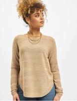 Only onlCaviar Knit Sweatshirt Wild Ginger