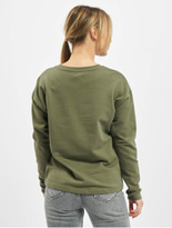 Only onlDiana Sweatshirt Kalamata/No Bad Days image number 1
