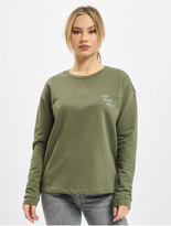 Only onlDiana Sweatshirt Kalamata/No Bad Days image number 2