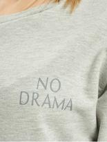 Only onlDiana Sweatshirt Kalamata/No Bad Days image number 3