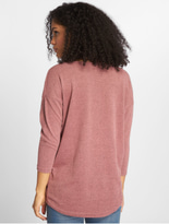 Only onlElcose 4/5 Solid Sweatshirt Mesa Rose image number 1