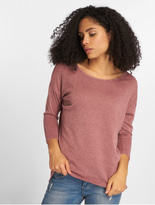Only onlElcose 4/5 Solid Sweatshirt Mesa Rose image number 2