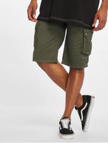 Sublevel Haka Cargo Shorts Military Green image number 0