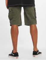 Sublevel Haka Cargo Shorts Military Green image number 1