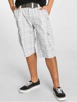 Sublevel Cargo Shorts White/Grey image number 0