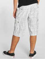 Sublevel Cargo Shorts White/Grey image number 1