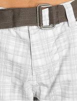 Sublevel Cargo Shorts White/Grey image number 2