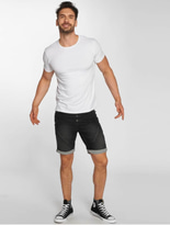 Sublevel Jogg Jeans Bermuda Shorts Black Denim image number 2