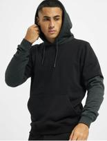 Urban Classics Double Layer Hoody Black/Charcoal