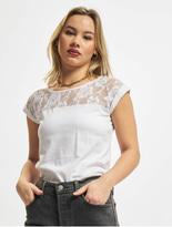 Urban Classics Top Laces T-Shirt Olive