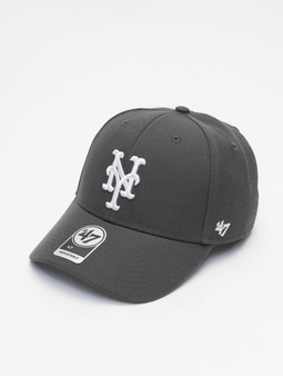 '47 MLB New York Mets MVP Snapback Cap Charcoal