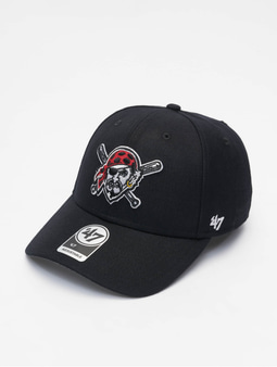 '47 MLB Pittsburgh Pirates MVP Snapback Cap Black