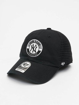 '47 MLB Porter Clean Up Snapback Cap Black