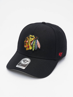 '47 NHL Chicago Blackhawks MVP Snapback Cap Black