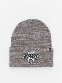 '47 NHL Los Angeles Kings Brain Freeze Cuff Knit Beanie Dark Grey