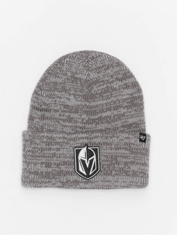 '47 NHL Vegas Golden Knights Brain Freeze Cuff Knit Beanie Dark Grey