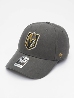 '47 NHL Vegas Golden Knights MVP Snapback Cap Charcoal