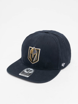 '47 NHL Vegas Golden Knights Upland Captain Snapback Cap Vintage Black