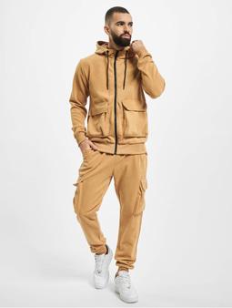 Aarhon Sweat Suit Camel
