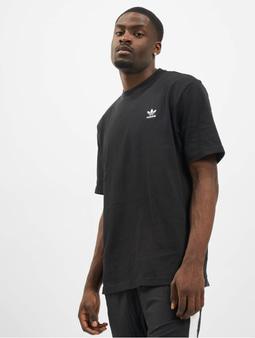 Adidas Originals Back and Front Print Trefoil T-Shirt Black/White