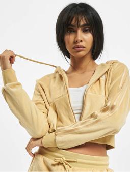 Adidas Originals Crop Full Zip Hoody Hazy Beige