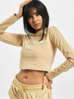 Adidas Originals Crop Top Hazy Beige