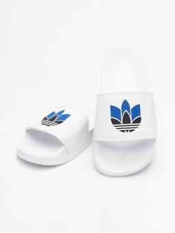 Adidas Originals Lite Adilette Ftwr White/Core Black/Team Royal Blue