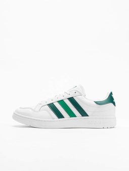 Adidas Originals Team Court Sneakers Ftwr White/Collegiate Green/Green