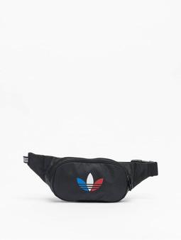 Adidas Originals Tricolor Waist Bag Black