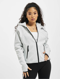 Adidas Originals ZNE Zip Hoody Light Grey Heather