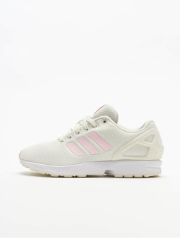 Adidas Originals Zx Flux Sneakers White Tint/Clear Pink/Core Black