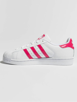 Adidas Superstar J Sneakers Ftwr Whit/Real Pink/Ftwr White