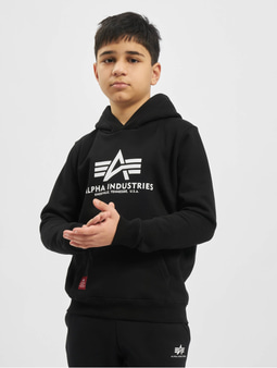 Alpha Industries Basic Hoody Kids/Teens Black