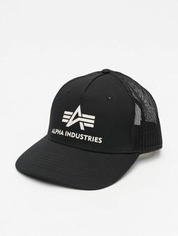 Alpha Industries Basic Trucker Cap Black