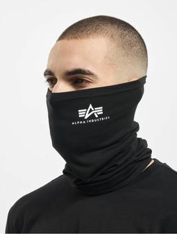 Alpha Industries Basic Tube Mask Black/White