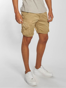 Alpha Industries Crew Shorts Sand
