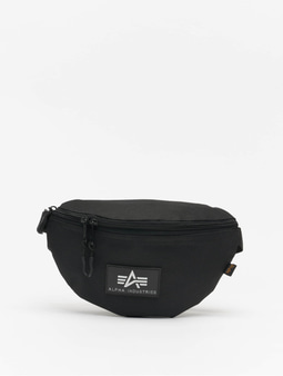 Alpha Industries Rubber Print Waistbag Black