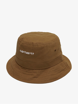 Carhartt Wip Script Bucket Hat Black/White